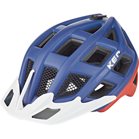 KED Crom Helm blue/red matte